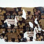 Textile Fragment with Birthing Llamas