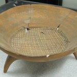Tripod Pottery Bowl