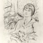 Woman with Dog (La Femme au chien)