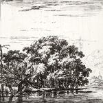 Set of Eight Landscapes No. 7