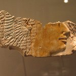 Relief Fragment Showing Head of Queen Ahmose
