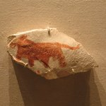 Ostracon with Sketch