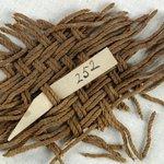 Fragment of Matting - Basketweave