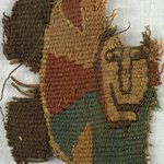 Tapestry Fragment with Face