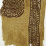 Fragment with Round and Strip Tapestry Insets