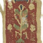 Two Pieces of Tapestry Strip