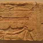 Slab with Two Reclining Male Figures