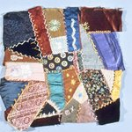 Eight Crazy Quilt Squares