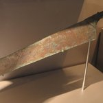 Ceremonial Saw in the Shape of a Maat-feather