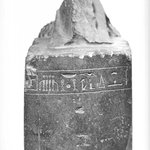 Statue Base with Feet of Kneeling Worshipper