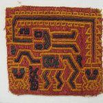 Textile Fragment, unascertainable or possible Mantle, Fragment