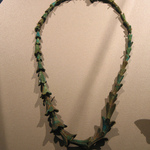 Necklace with Beads in Form of Jasmine Blossoms