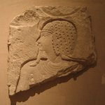 Sunk Relief Representation of a God