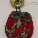 Purse with Netsuke
