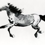 Horizontal Scroll, Galloping Horse