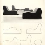 """One of Five-Piece """"Malitte"""" Cushion System"""