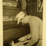 [Untitled] ( Man at Flour Sifter)