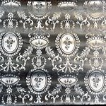 Wallpaper, Mecaxin-Louis XVI Medallions pattern