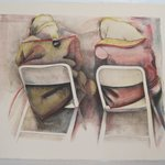 Two Women in Chairs
