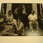 Group on Stoop in New York