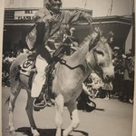 Navajo on Horse During Parade at Inter-tibal Ceremonial at Gallup, New Mexico, 1952