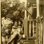 Mother and Daughter with Friend (50 West 130th Street)