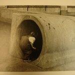 Girl Entering Tunnel