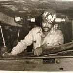 Dave Moore Working on the Longwall Keystone #5 Mine, Eastern Associated Coal Co., Affinity, W. Va., 1982