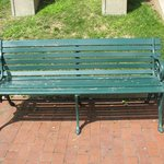 Park Bench from Coney Island Boardwalk