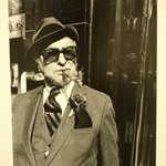 Untitled (Man with Cigar at Trump Tower)