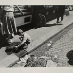 Untitled (Paris Child Playing in Street)