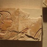 Fragment from a Relief of a Worshipper