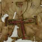 Textile With a Cross Motif