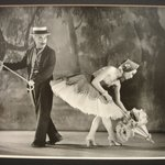 """[Untitled] (Charles Chaplin and Clair Bloom, in """"Limelight"""")"""