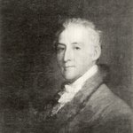 Portrait of Trumbull, by Gilbert Stuart
