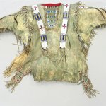 Fringed and Beaded Shirt