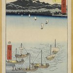 Print from the Series 53 Stations on the Tokaido