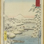 Print from the Series 36 Views of Fuji