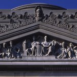 Pediment for the Brooklyn Museum
