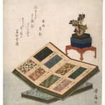 Sample Books of Brocade Designs  (Kinran Mihoncho zu)