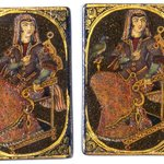 Bibi or Queen Playing Card for the Game of Nas