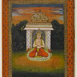 Miniature Painting, Enshrined Deity