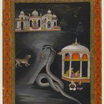 Krishna Carried Across the River