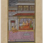 Dipaka Raga, Page from a Dispersed Ragamala Series