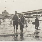 Bathers, Steel Pier, Coney Island