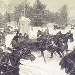 Sleighing in Central Park
