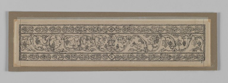 Brooklyn Museum: Metal Ornament Taken from the Mosque of Es-Sakra