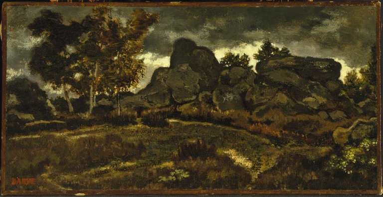 Brooklyn Museum: Forest at Fontainebleau