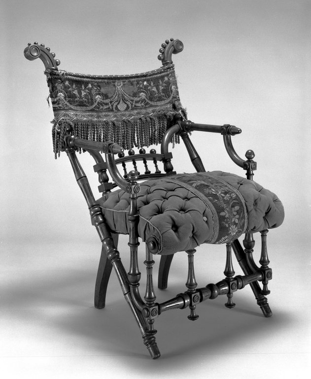 Brooklyn Museum: Armchair