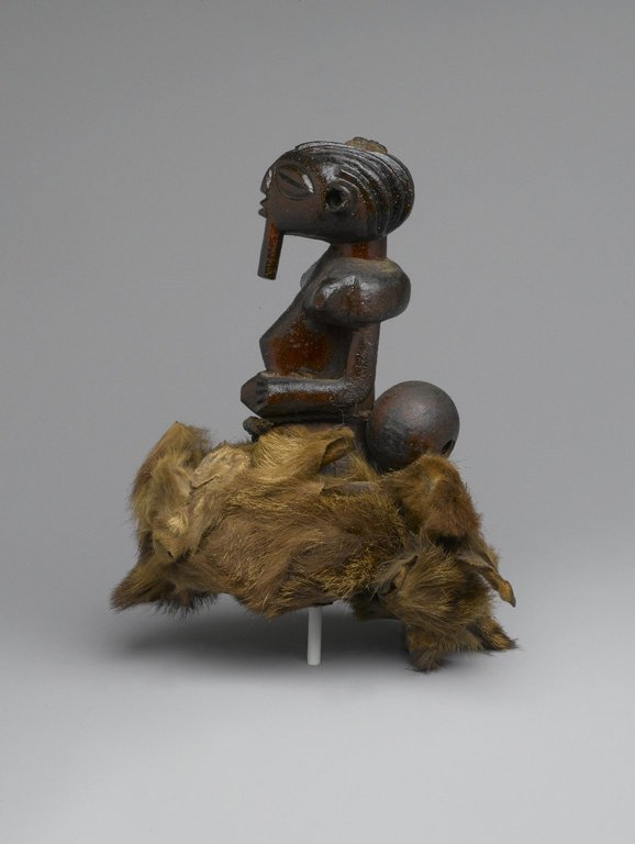 Brooklyn Museum: Divination Torso Figure (Nkishi)
